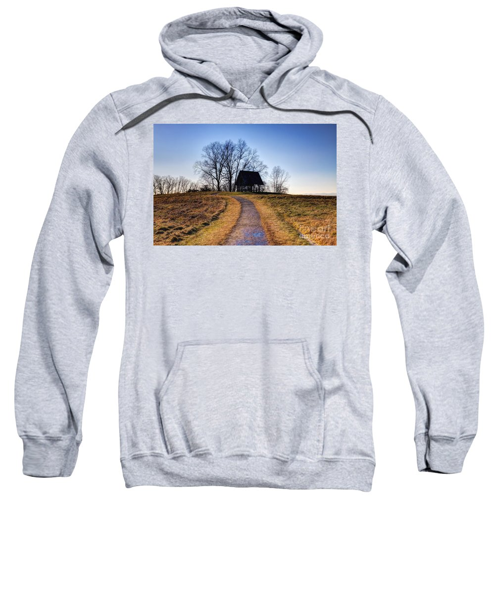 Path Sweatshirt featuring the photograph Off The Beaten Path by Rick Kuperberg Sr