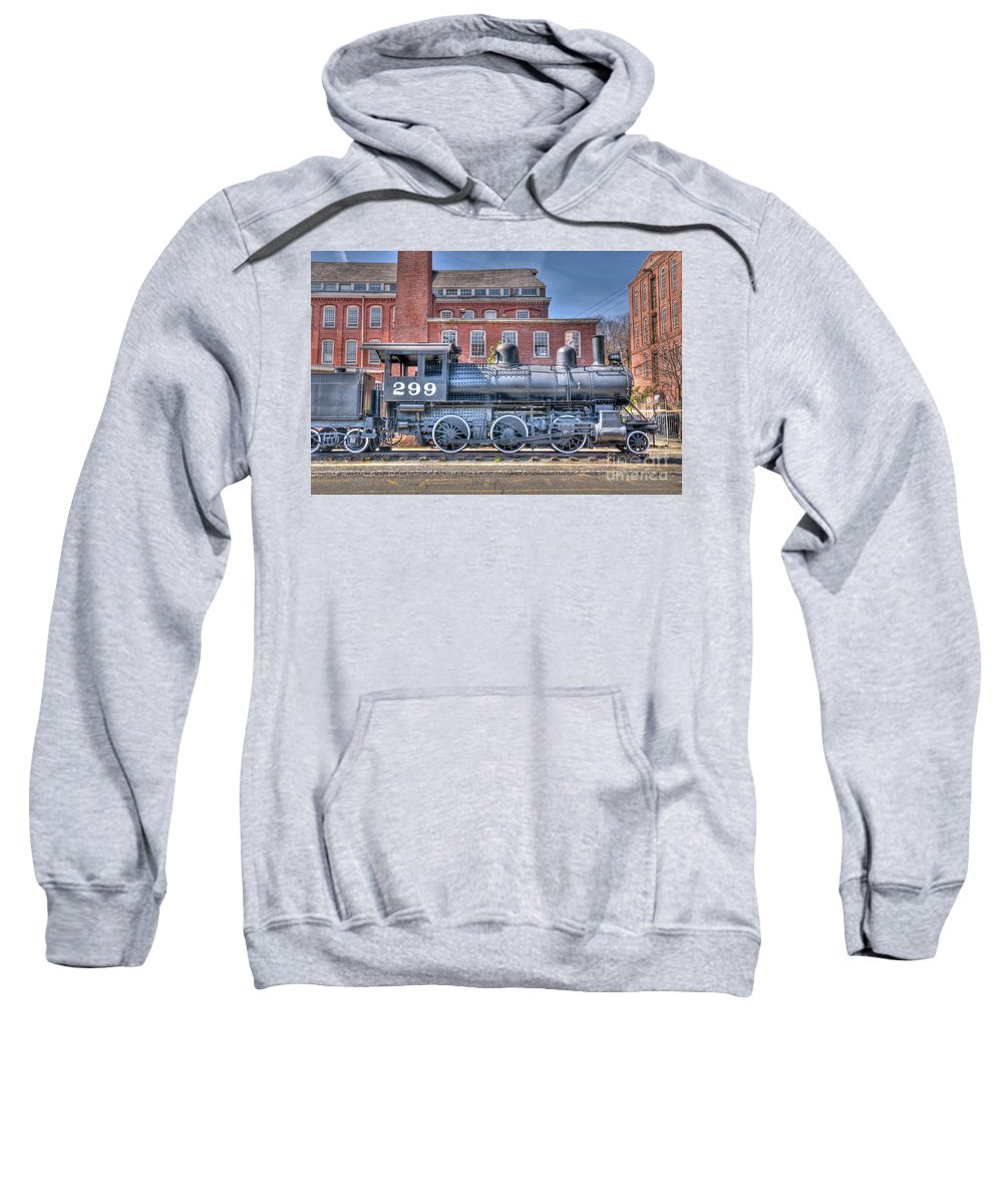 Train Sweatshirt featuring the photograph Old 299 by Anthony Sacco