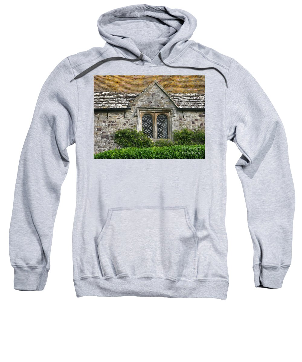 England Sweatshirt featuring the photograph Old English by Ann Horn