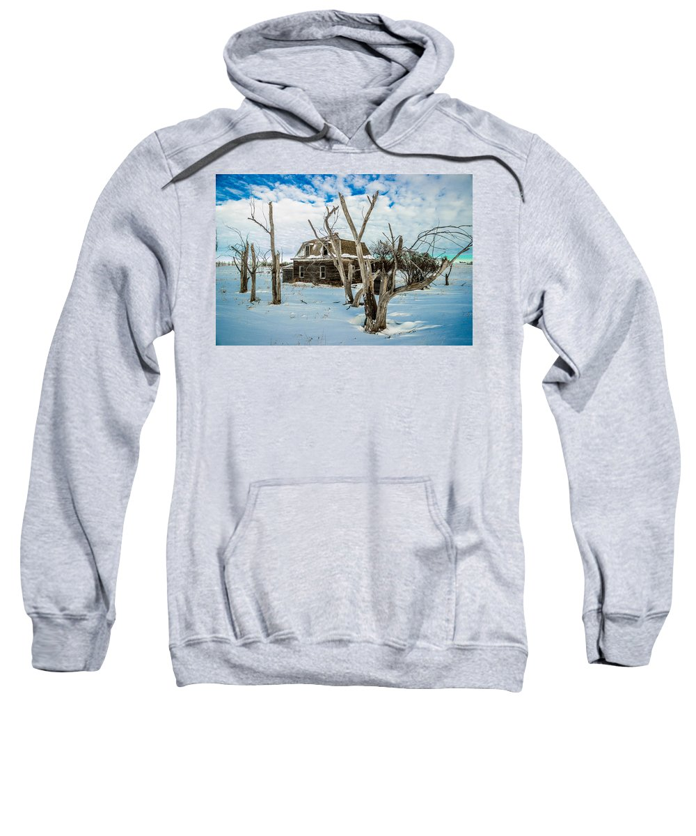 Old Sweatshirt featuring the photograph Old House 3 by Chad Rowe