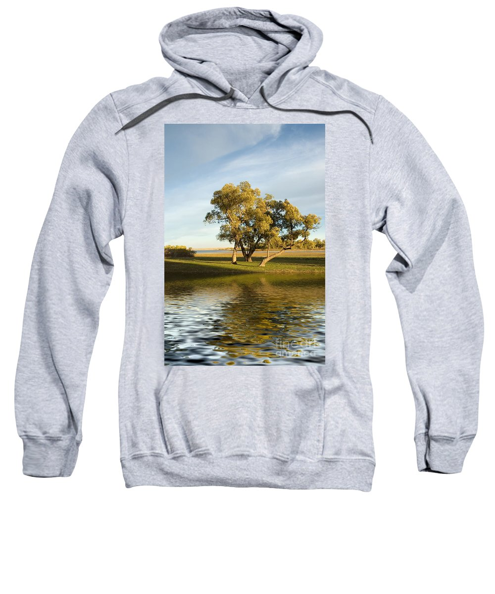 Lake Sweatshirt featuring the photograph Oliver Solitude by Jerry McElroy