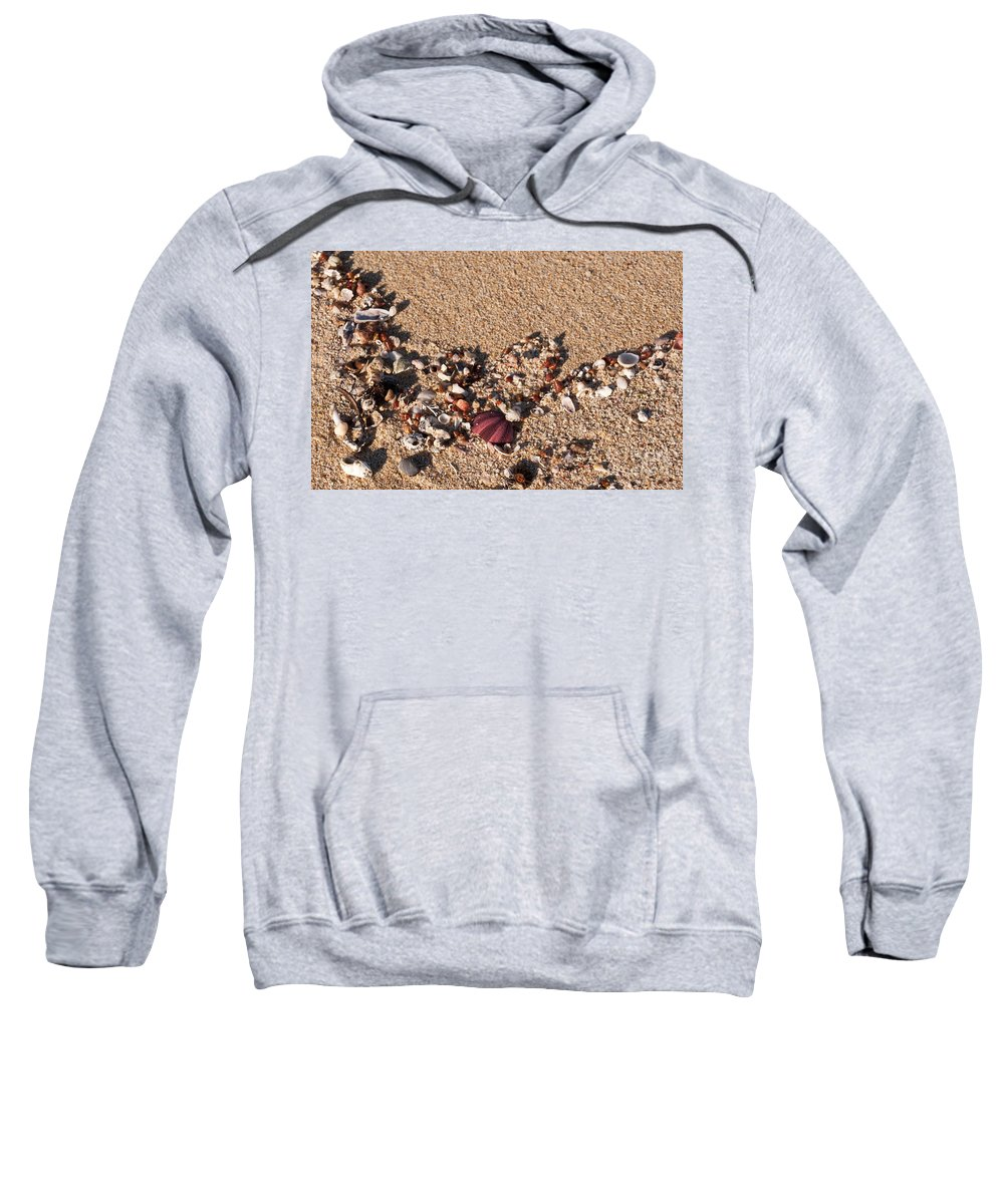 Australia Sweatshirt featuring the photograph On The Beach 02 by Rick Piper Photography