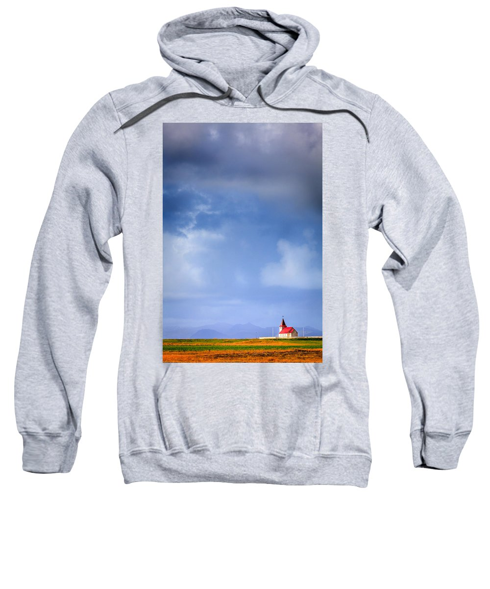 Europe Sweatshirt featuring the photograph One-on-one With Heaven by Alexey Stiop