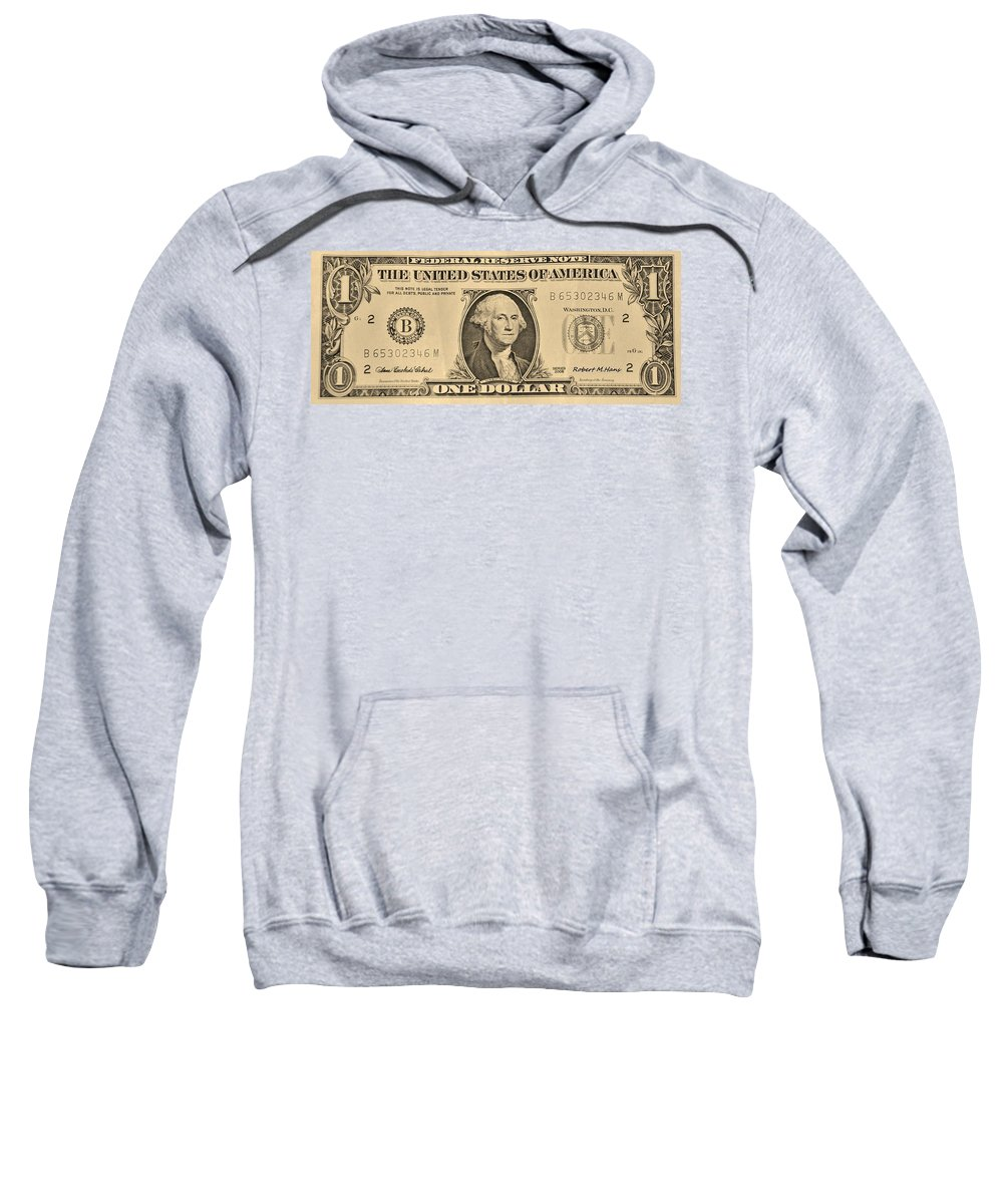 One Sweatshirt featuring the photograph One Sepia by Rob Hans