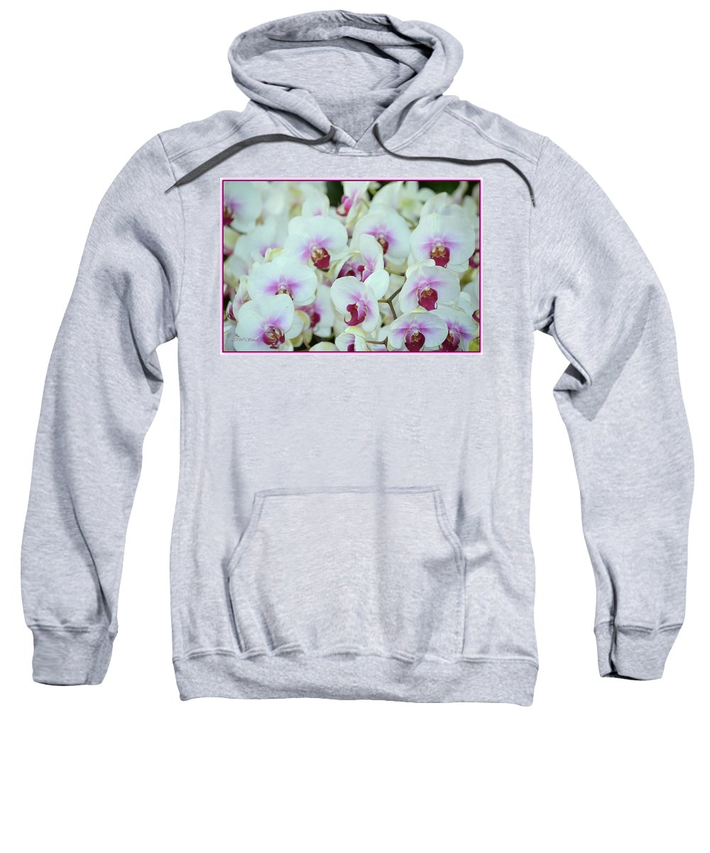 Orchid Sea Sweatshirt featuring the photograph Orchid Sea by Sonali Gangane
