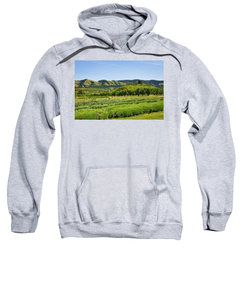 Hood River Sweatshirt featuring the photograph Oregon - Hood River by Image Takers Photography LLC