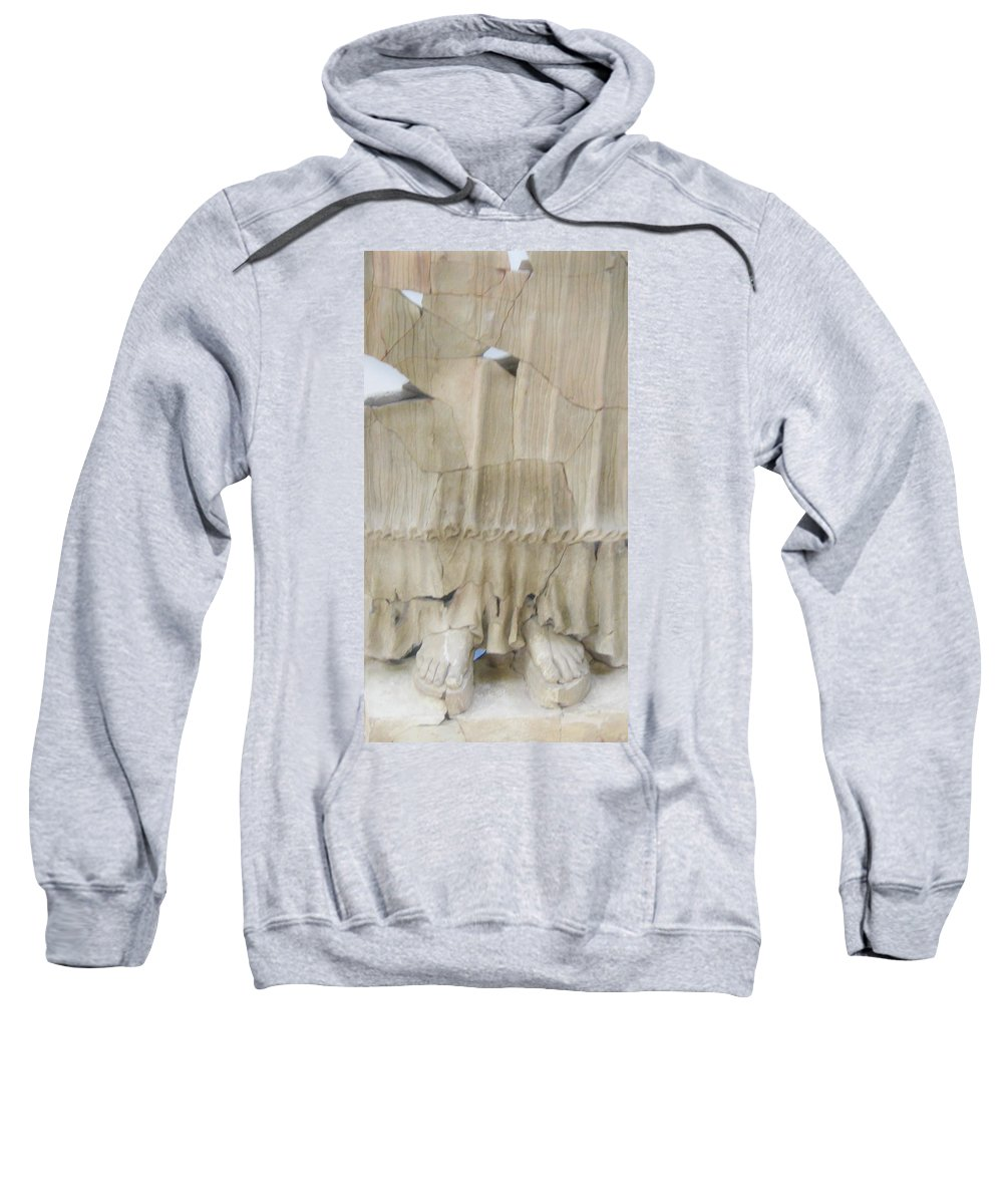 Statues Sweatshirt featuring the photograph Original Goddess by Candee Lucas