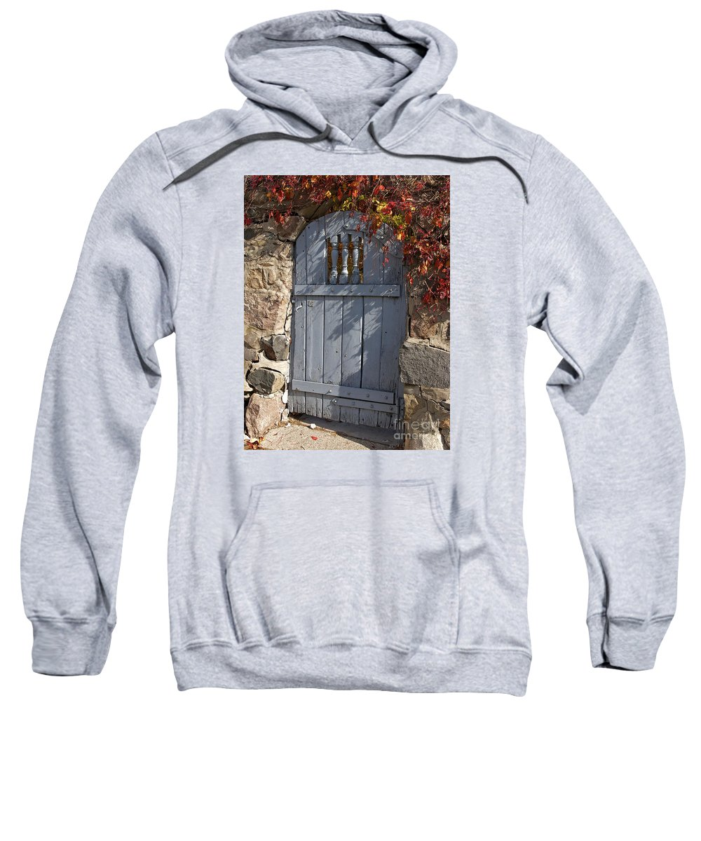 Wall Sweatshirt featuring the photograph Overgrown by Ann Horn