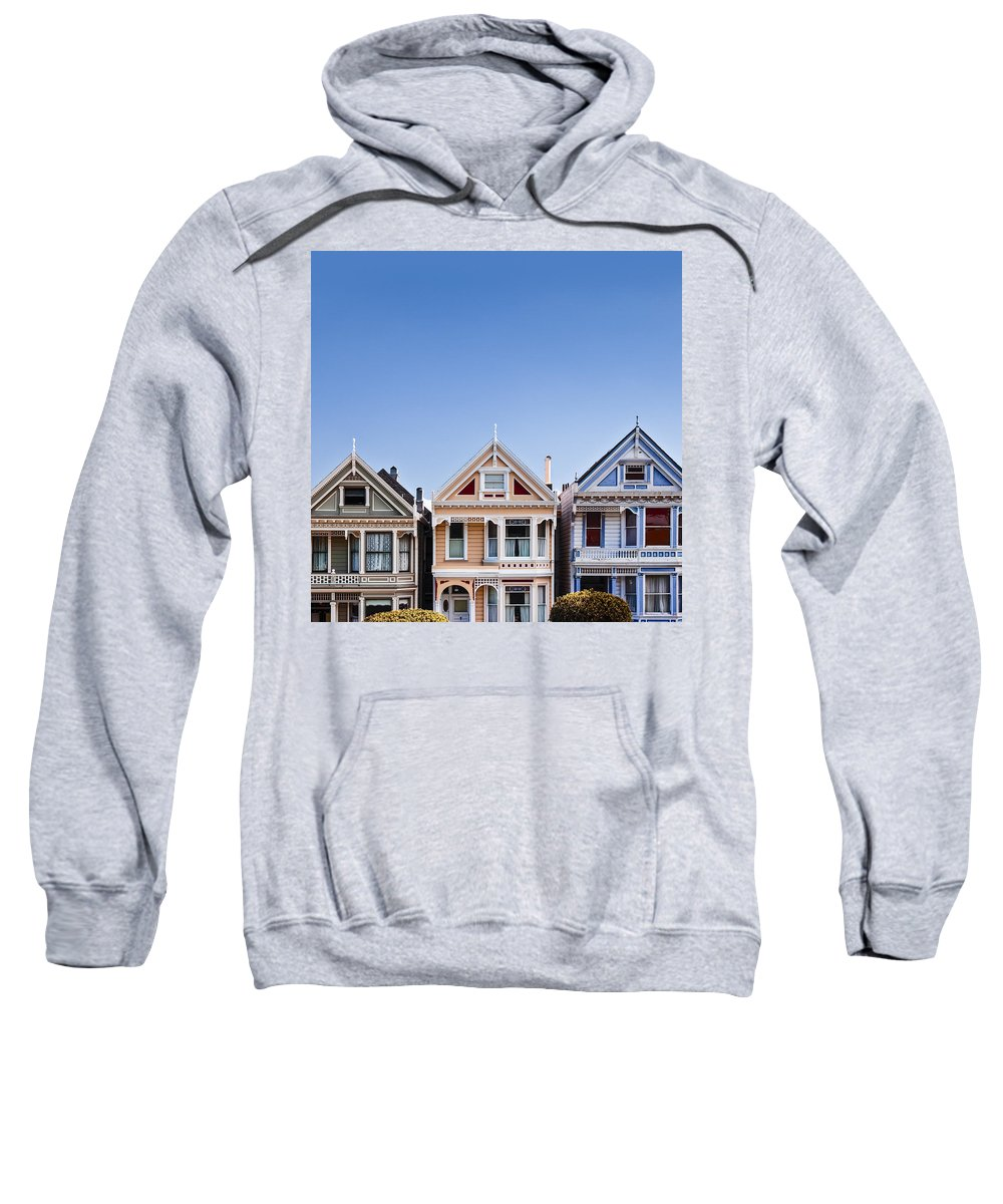 Painted Ladies Sweatshirt featuring the photograph Painted Ladies by Dave Bowman