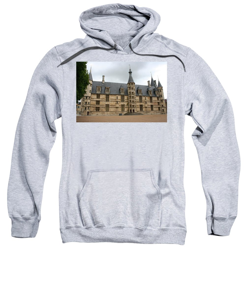 Palace Sweatshirt featuring the photograph Palace Ducal Nevers by Christiane Schulze Art And Photography