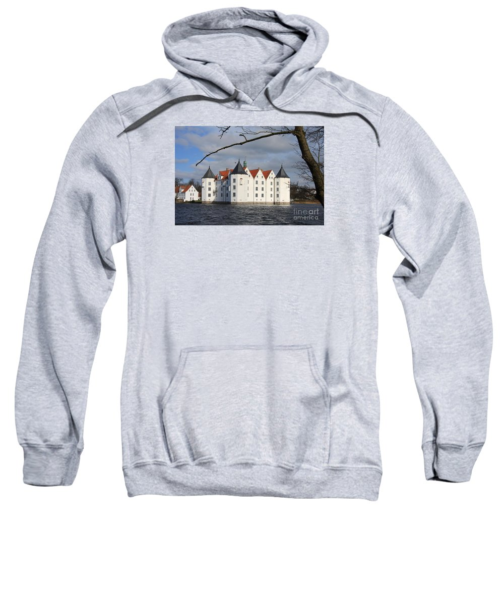 Palace Sweatshirt featuring the photograph Palace Gluecksburg - Germany by Christiane Schulze Art And Photography