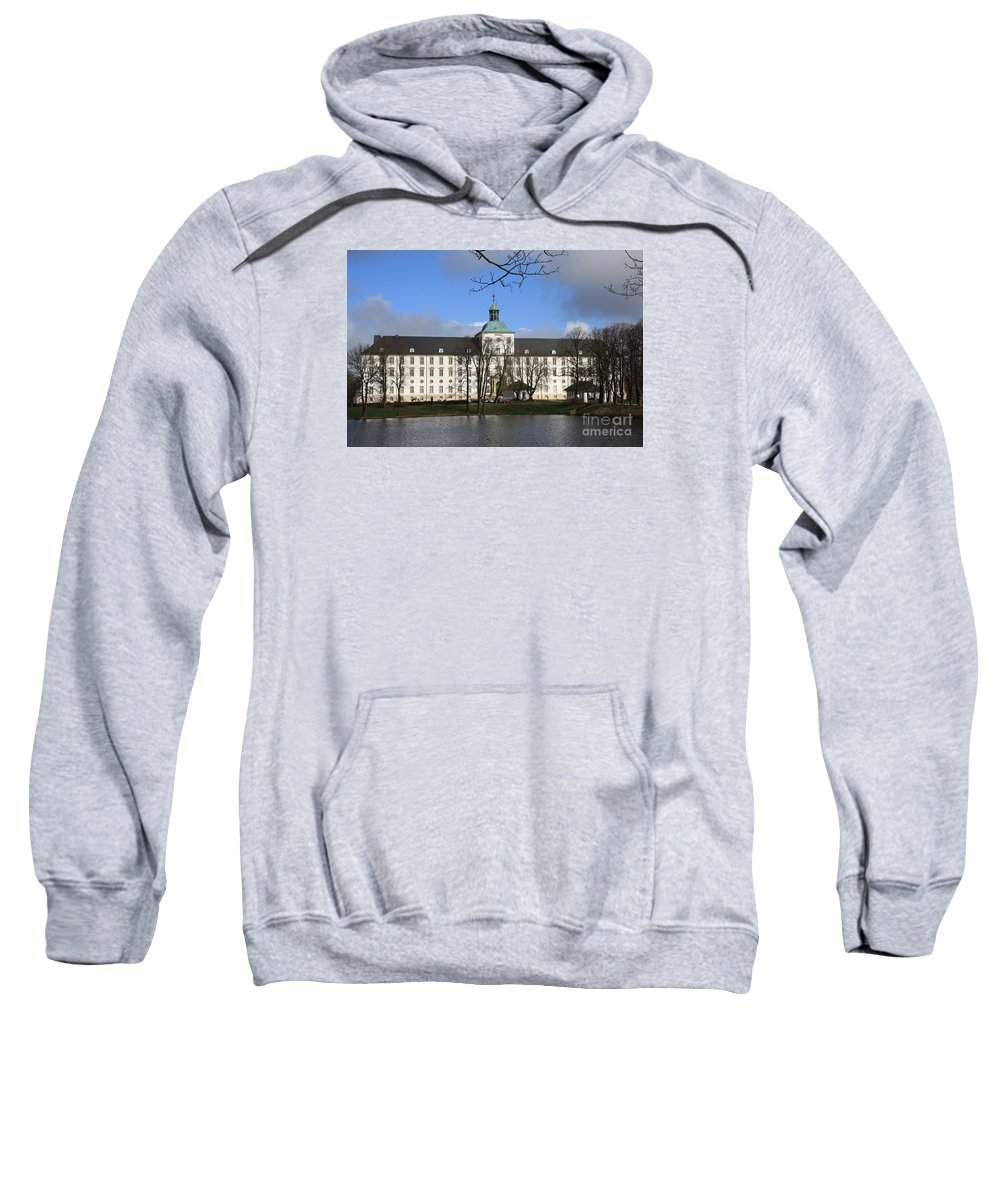 Palace Sweatshirt featuring the photograph Palace Gottorf - Schleswig by Christiane Schulze Art And Photography