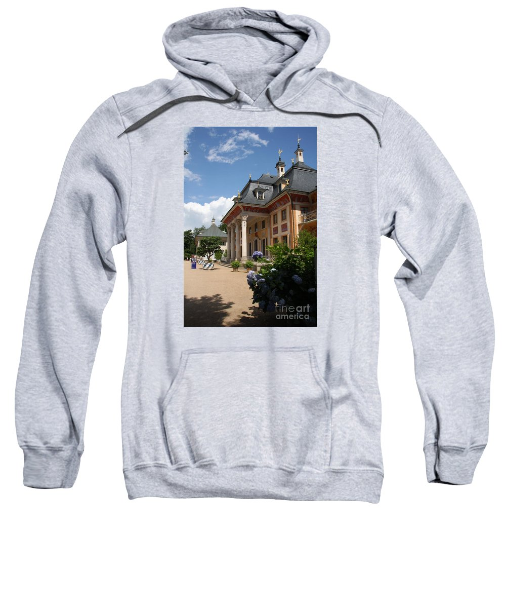 Palace Sweatshirt featuring the photograph Palace Pillnitz - Germany by Christiane Schulze Art And Photography