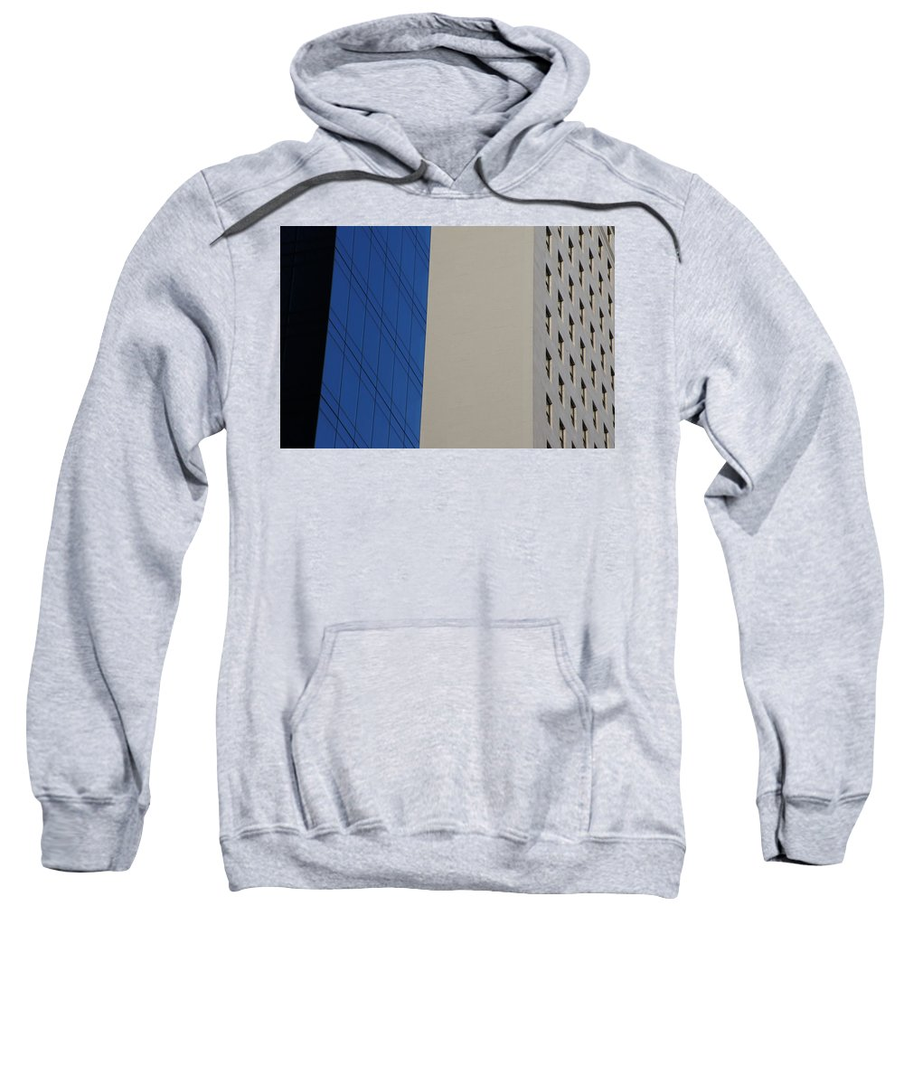 Architectural Elements Sweatshirt featuring the photograph Passing By by Ira Shander