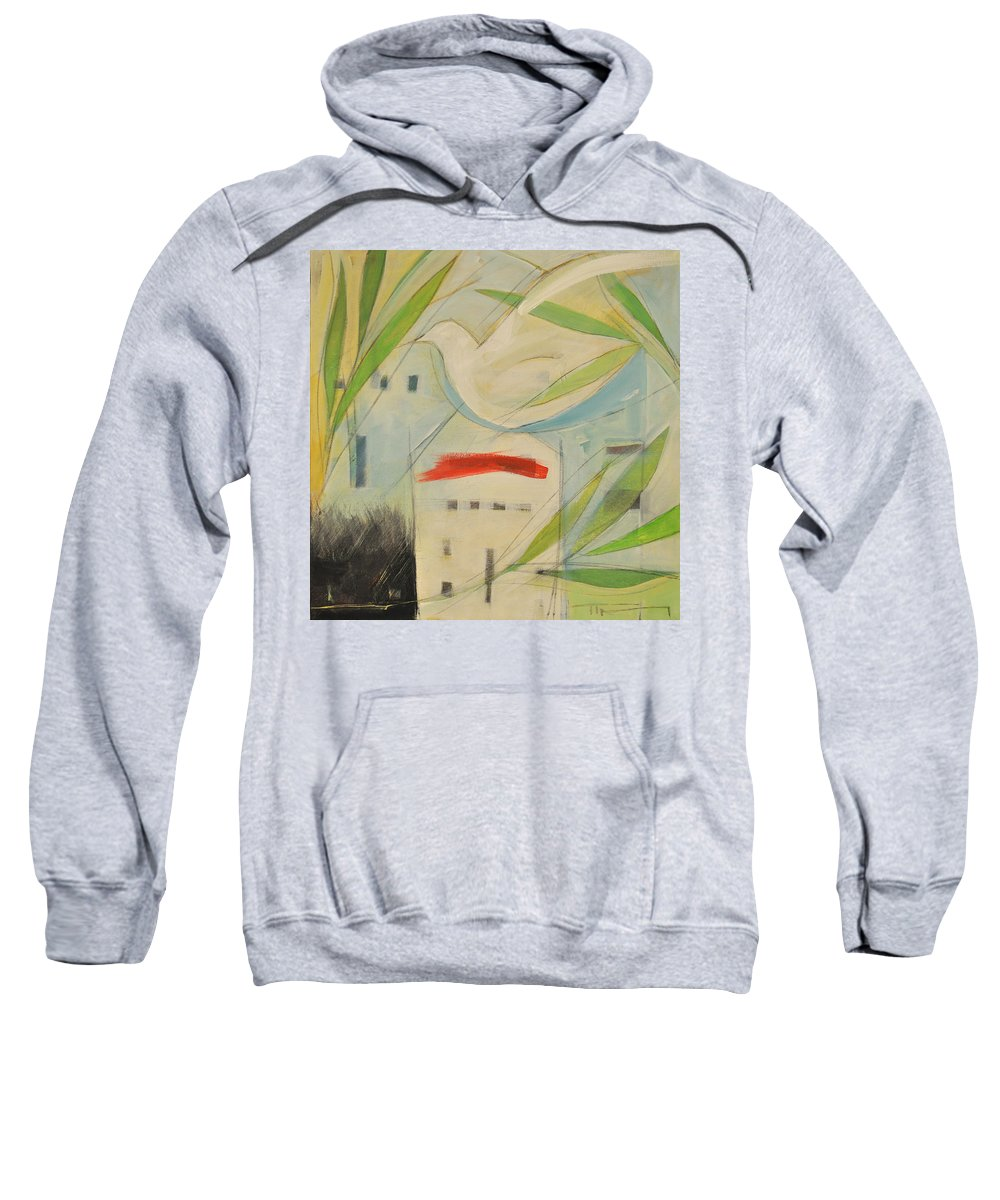 Judaism Sweatshirt featuring the painting Passover by Tim Nyberg
