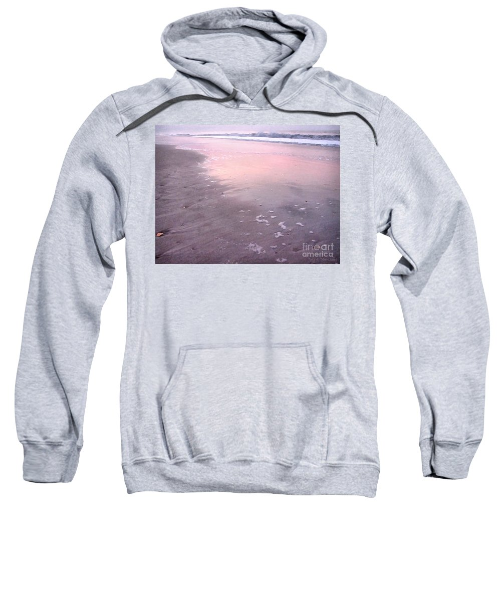Landscape Sweatshirt featuring the photograph Pastel Beach by Todd A Blanchard