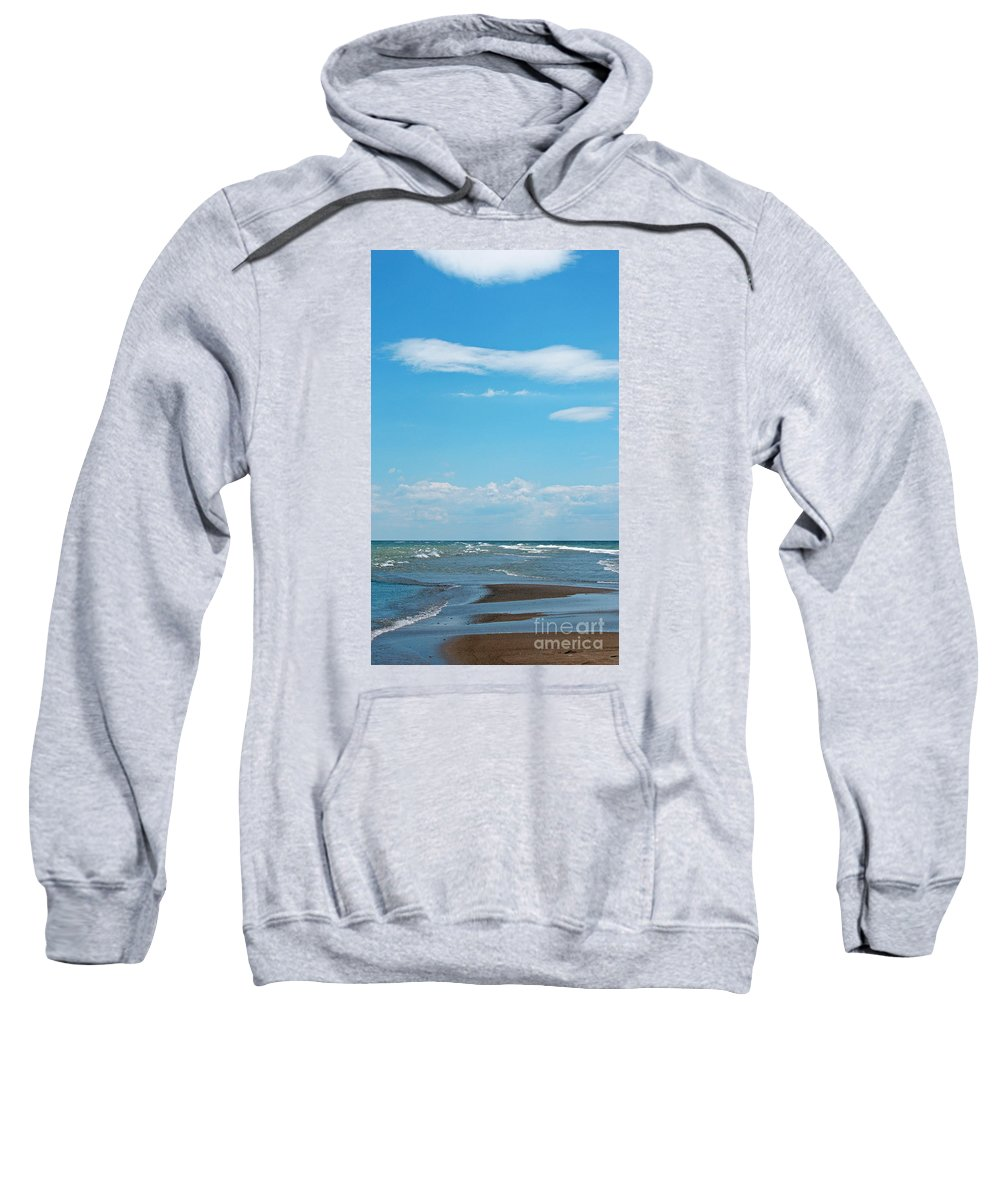 Canada Sweatshirt featuring the photograph Pelee by Ann Horn