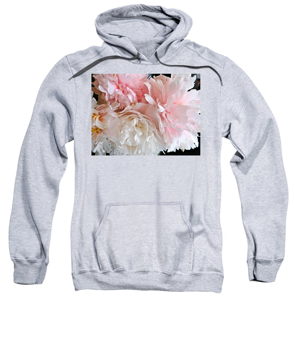 Peonies Sweatshirt featuring the photograph Peony by Ira Shander