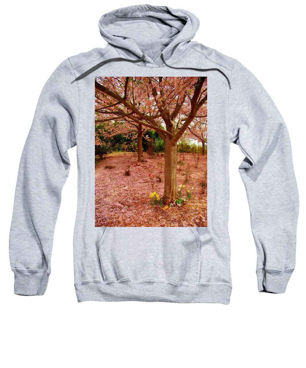 Fine Art Sweatshirt featuring the photograph Pink Tones by Rodney Lee Williams