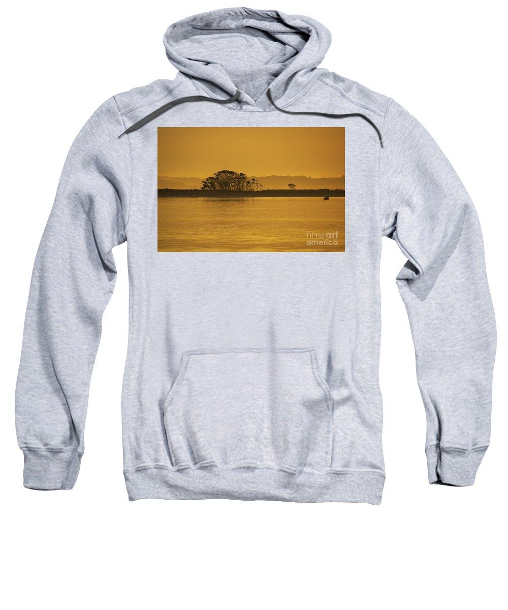 Sun Sweatshirt featuring the photograph Placid Morning by Joe Geraci