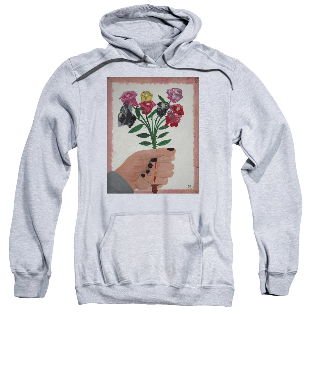 Painting Sweatshirt featuring the painting Point Of Beauty by Dean Stephens
