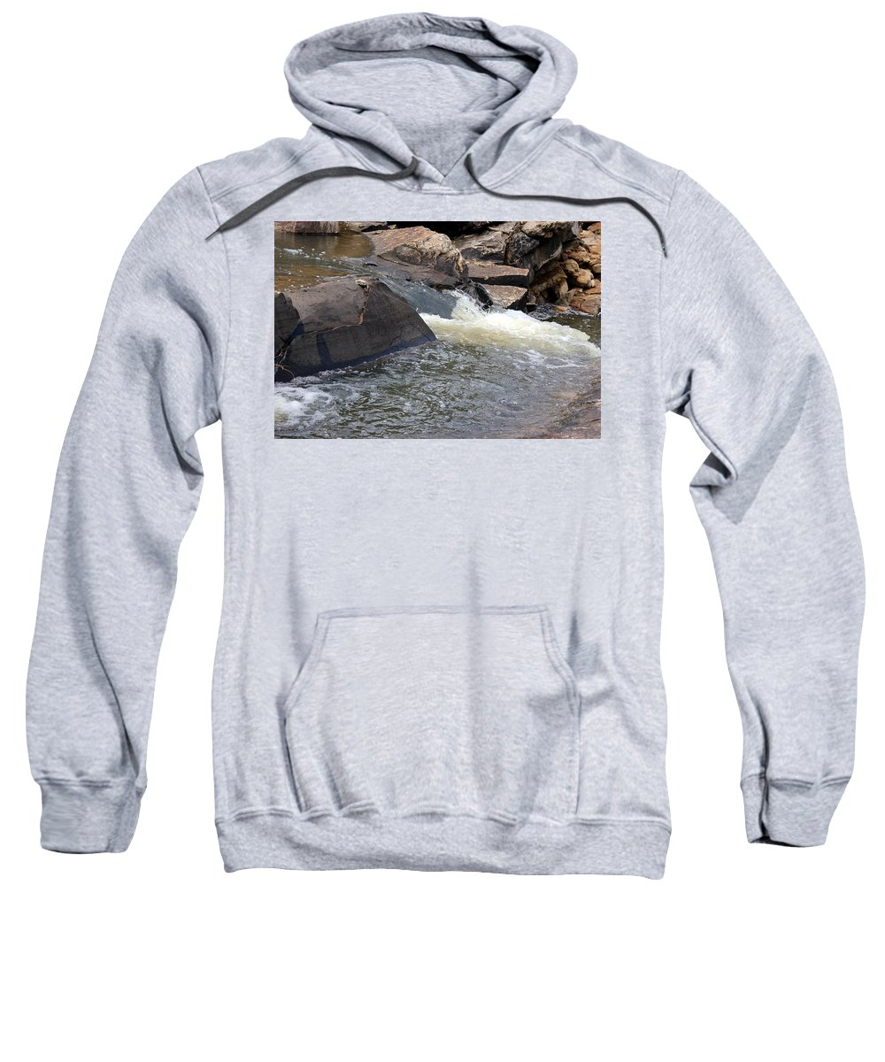 Water Pool Sweatshirt featuring the photograph Pooling by Jackie Austin