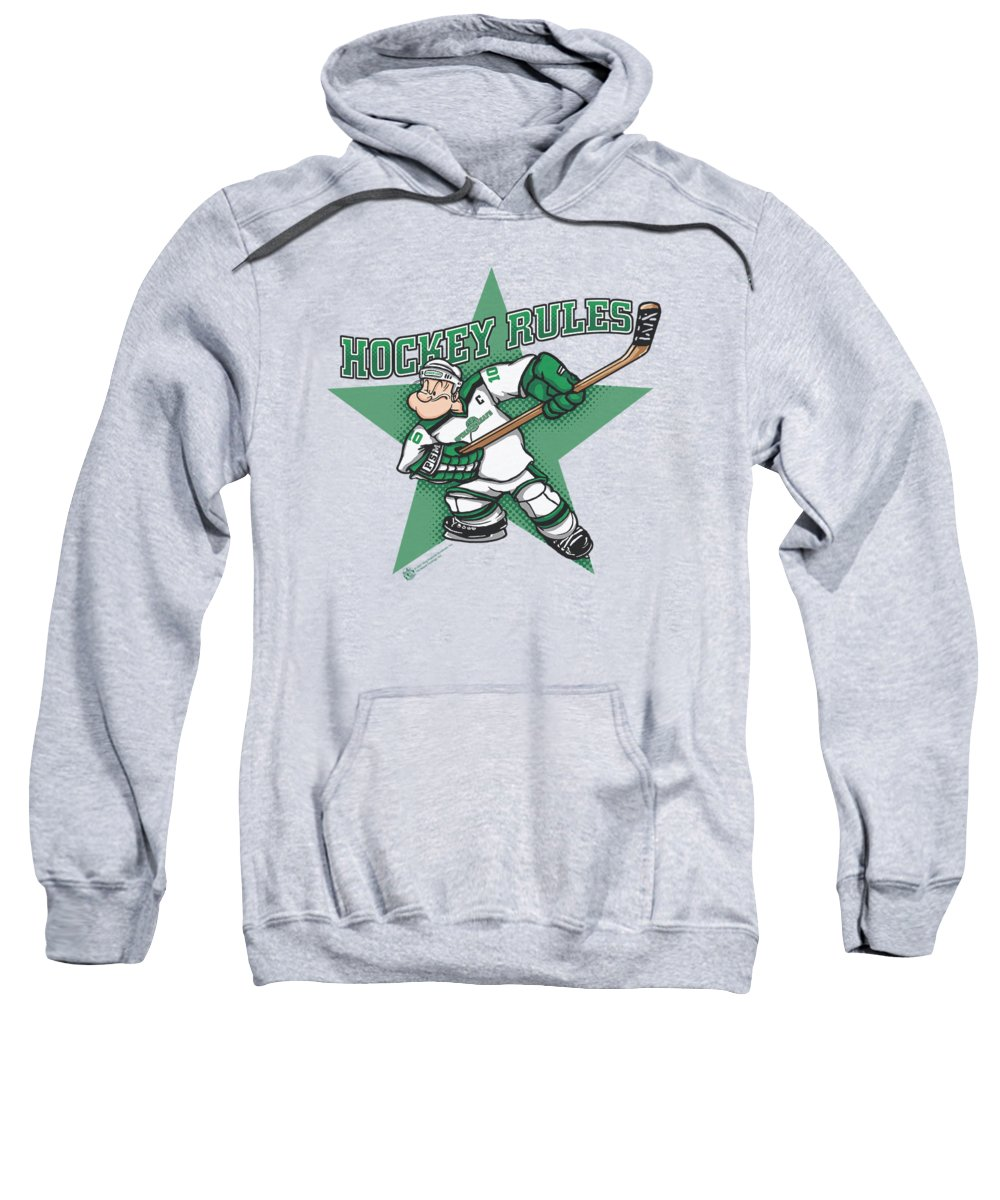 Spinach Hooded Sweatshirts T-Shirts