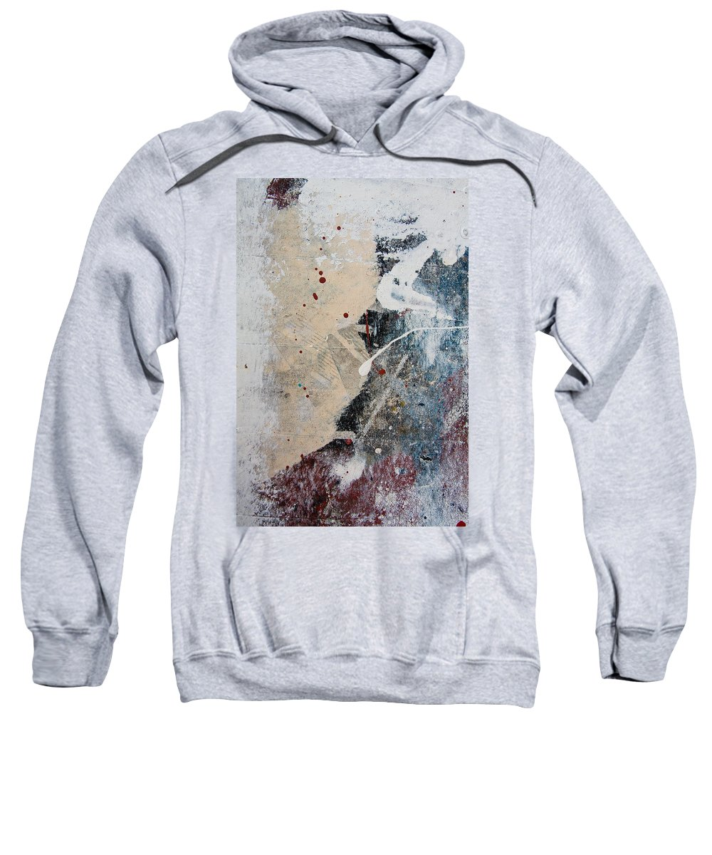 Paint Sweatshirt featuring the photograph port 'I by Milan Gonda