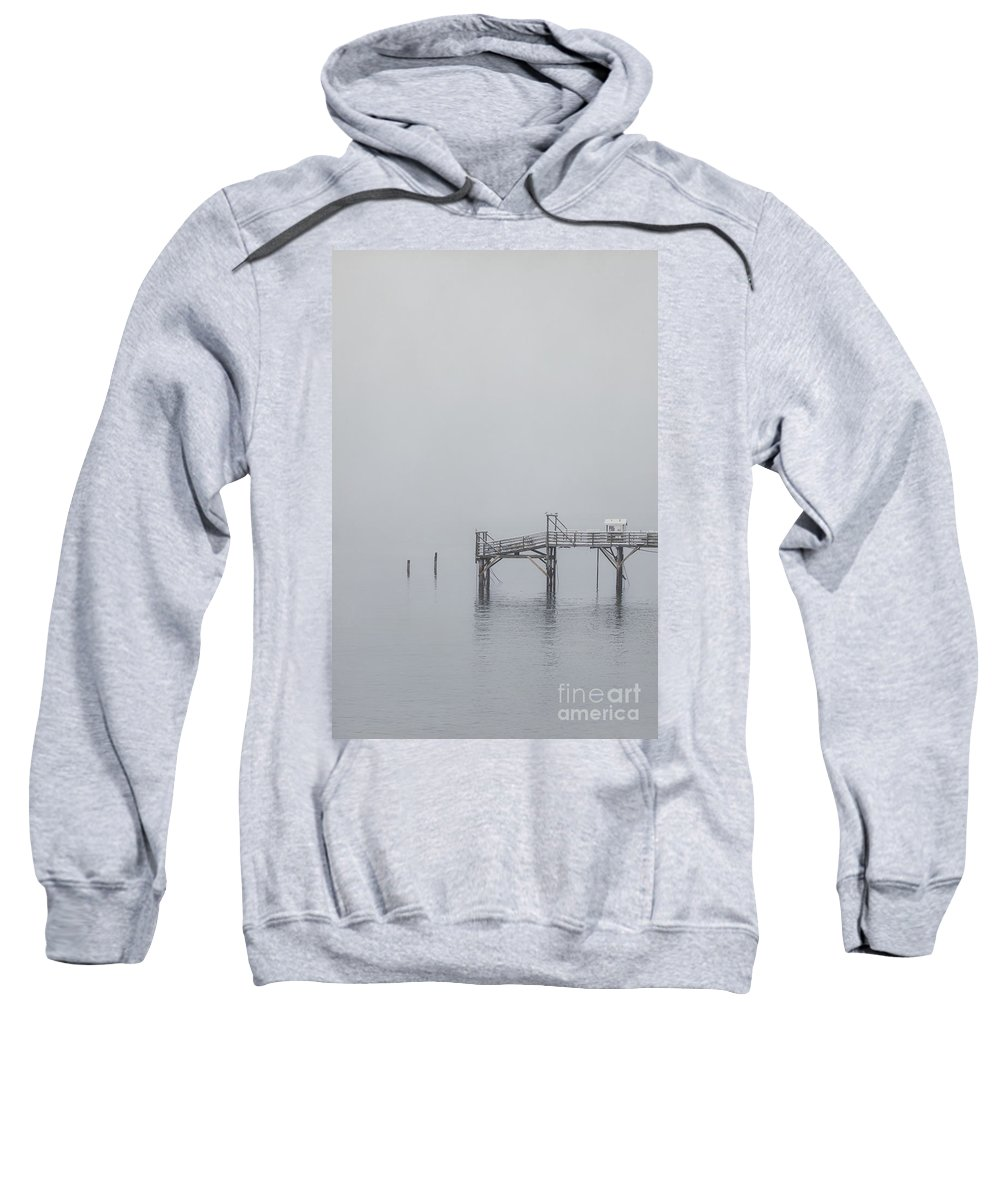 Bar Harbor Sweatshirt featuring the photograph Port Of Mystery by Evelina Kremsdorf