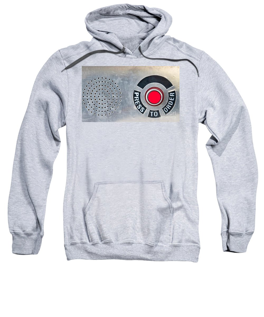 Press Sweatshirt featuring the photograph Press To Order by Charles Dobbs
