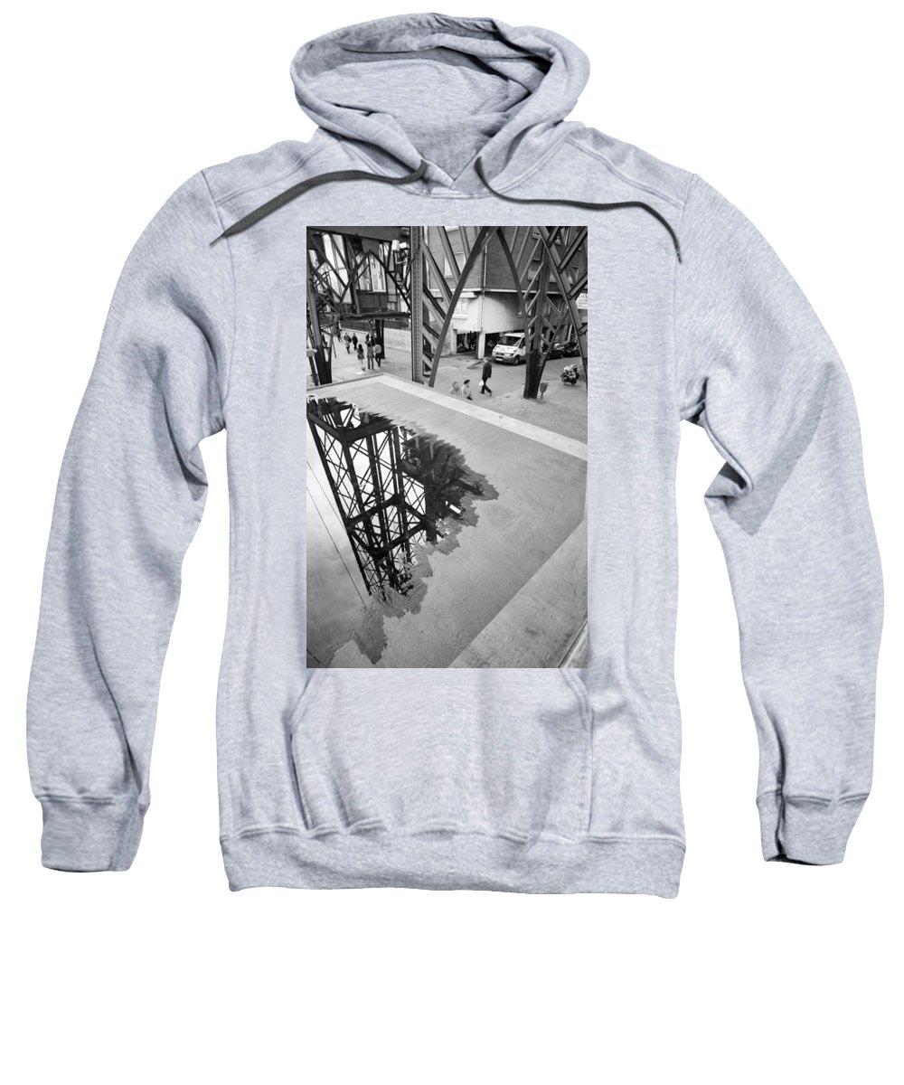 Basque Sweatshirt featuring the photograph Puente Colgante IIi by Rafa Rivas