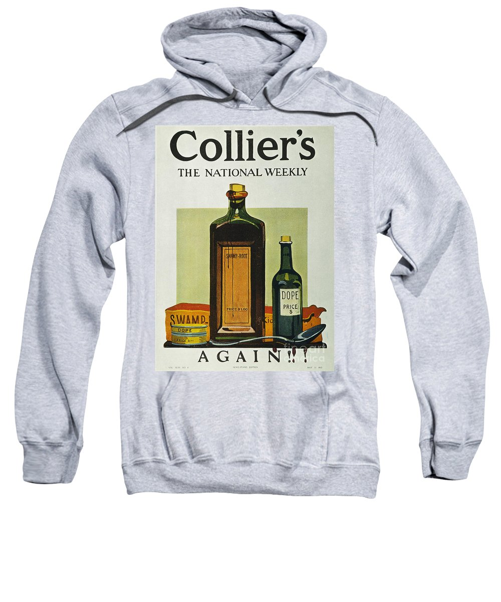 1912 Sweatshirt featuring the photograph Pure Food Act, 1912 by Granger