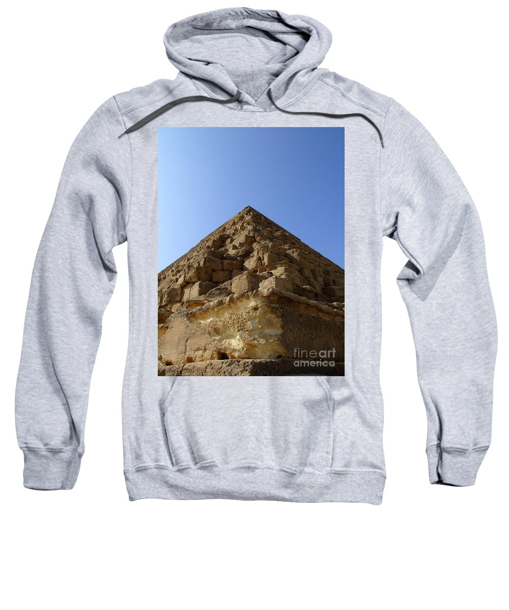 Pyramids Sweatshirt featuring the photograph Pyramids Of Giza 20 by Antony McAulay