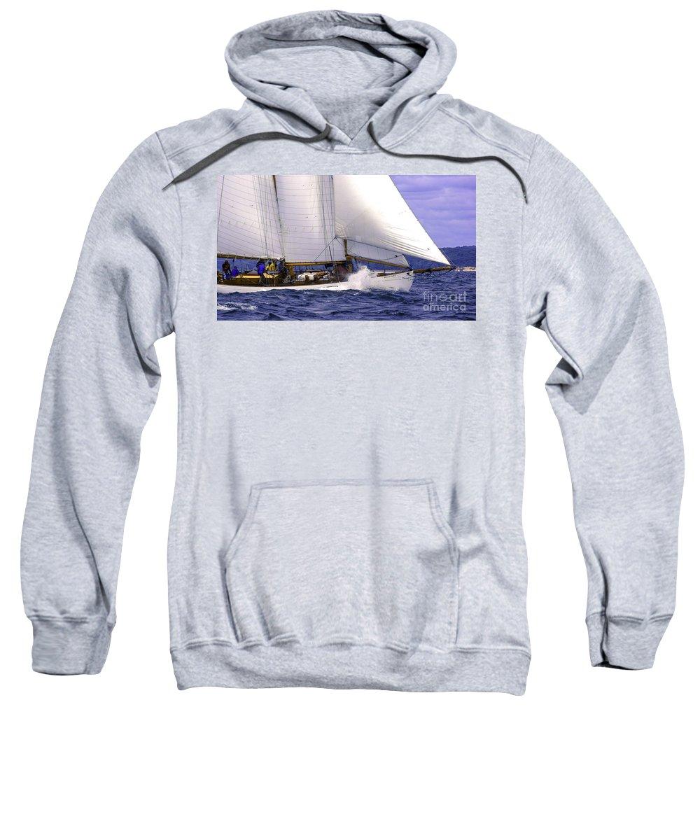 Amistad Sweatshirt featuring the photograph Race Favorite by Joe Geraci