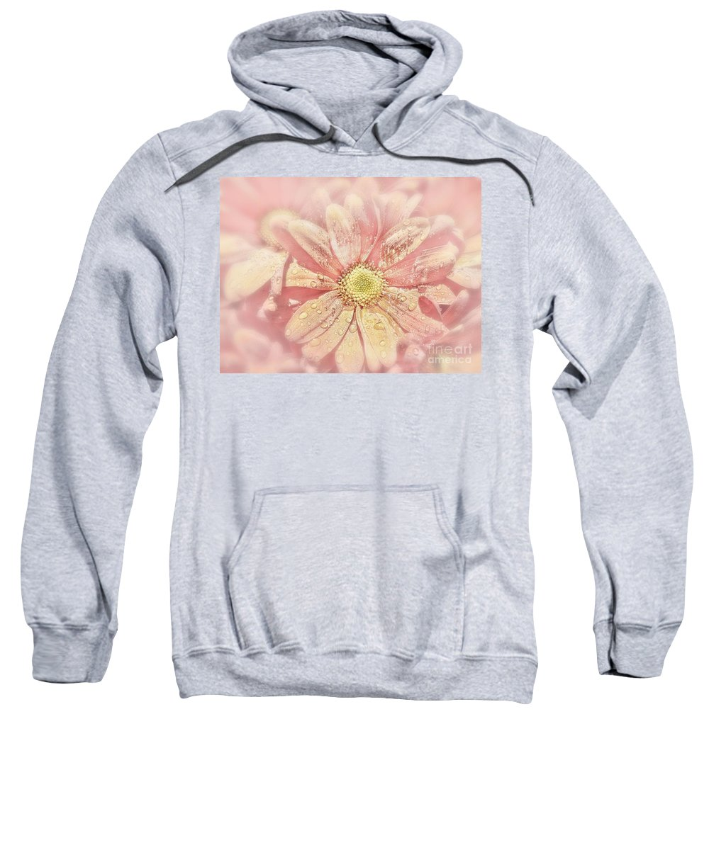 Flower Sweatshirt featuring the photograph Rainy Days And Sundays by Andrea Kollo