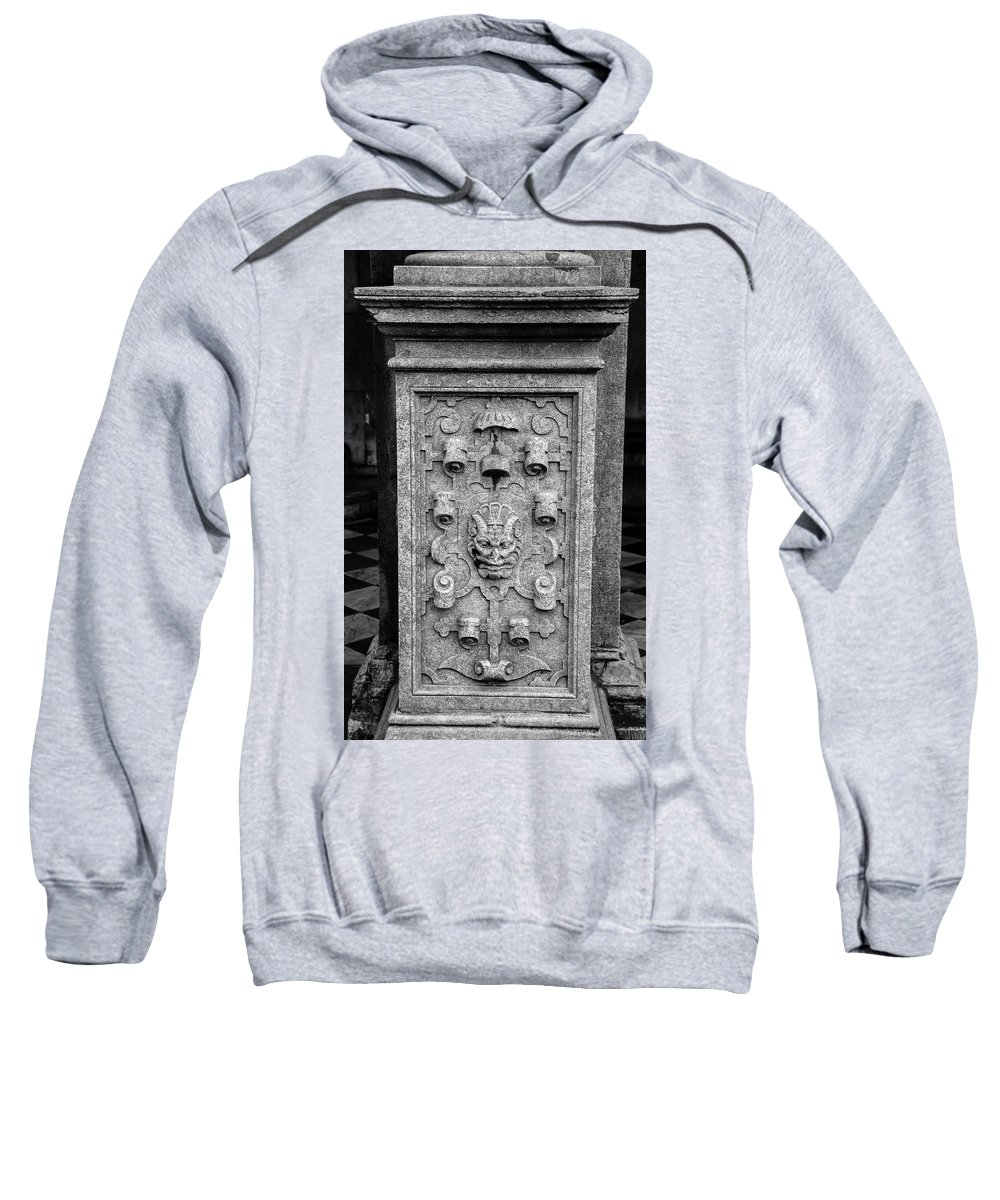 2014 Sweatshirt featuring the photograph Rathaus Post 5 by Teresa Mucha