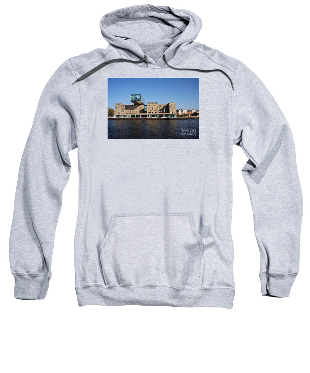 Rebuilt Warehouse Sweatshirt featuring the photograph Rebuilt Warehouse by Christiane Schulze Art And Photography