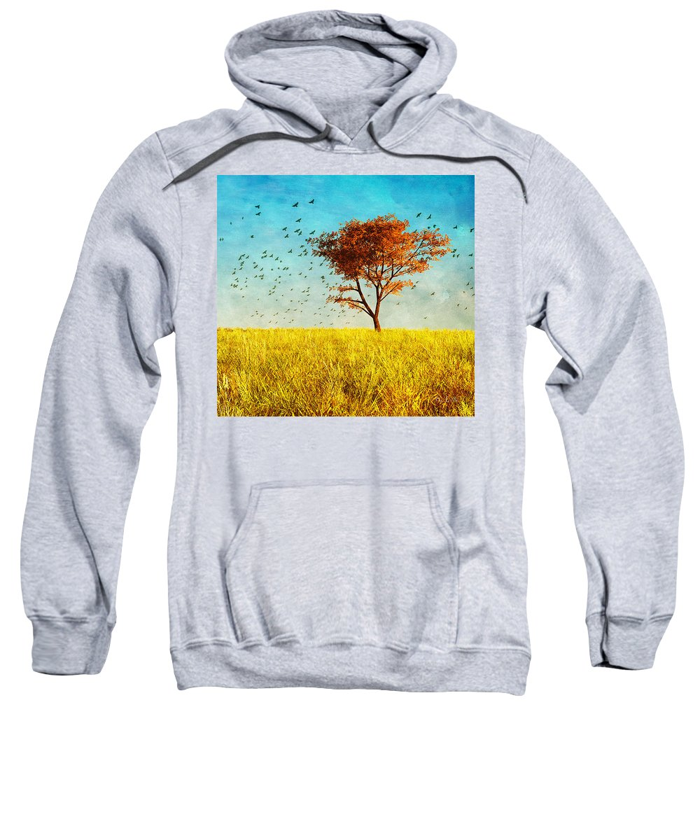 Nature Sweatshirt featuring the photograph Red Maple by Bob Orsillo
