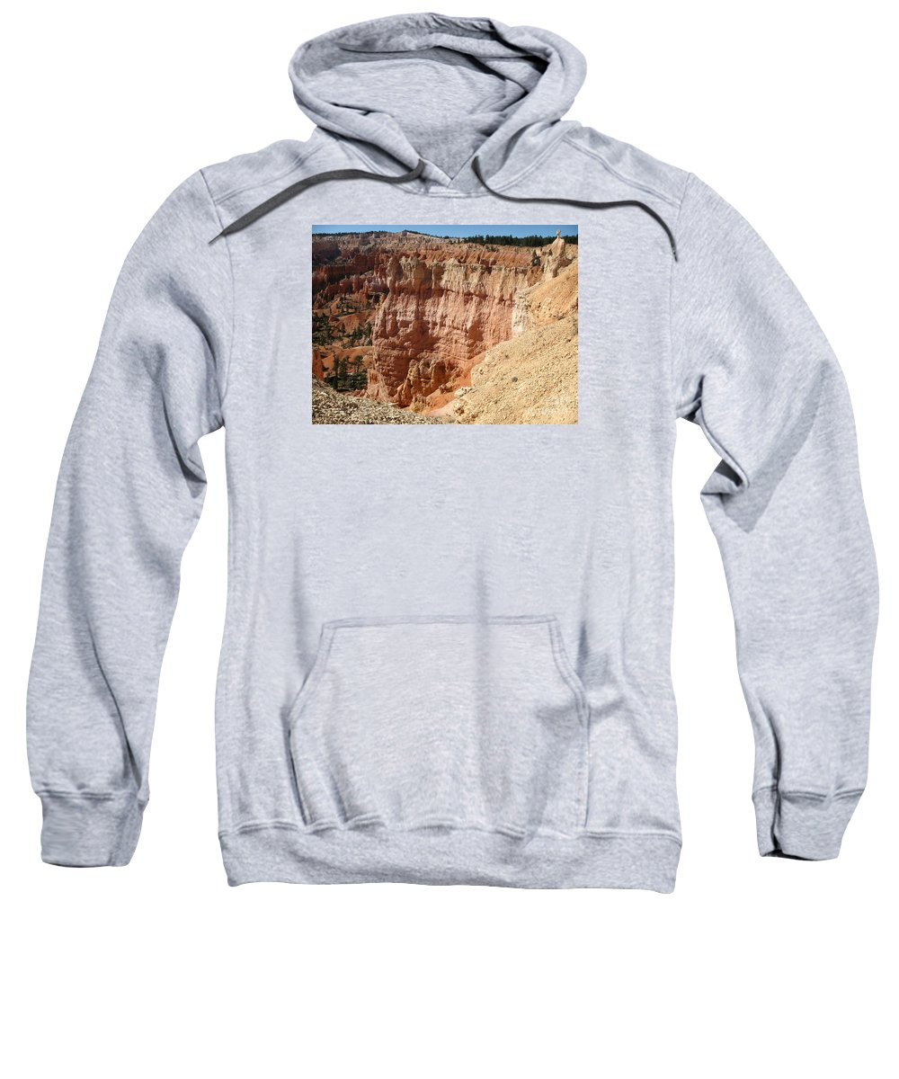 Rocks Sweatshirt featuring the photograph Red Rock Bryce Canyon by Christiane Schulze Art And Photography