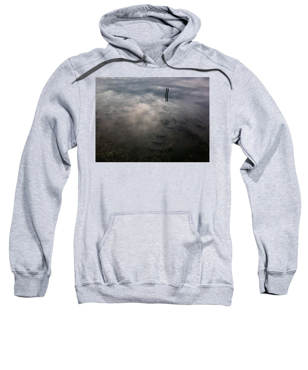 Reflections Sweatshirt featuring the photograph Reflections by Don Spenner