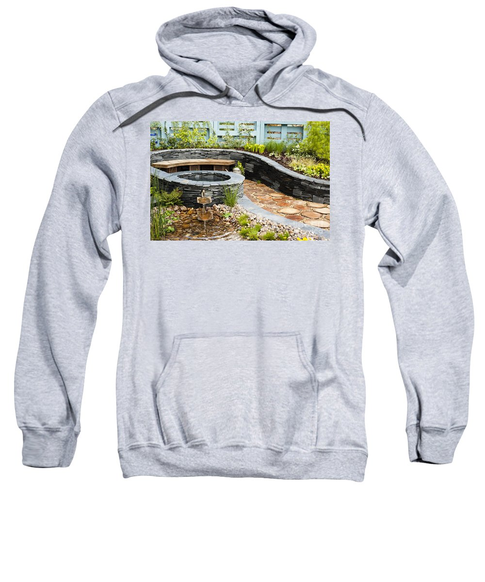 2012 Sweatshirt featuring the photograph Regeneration by Anne Gilbert