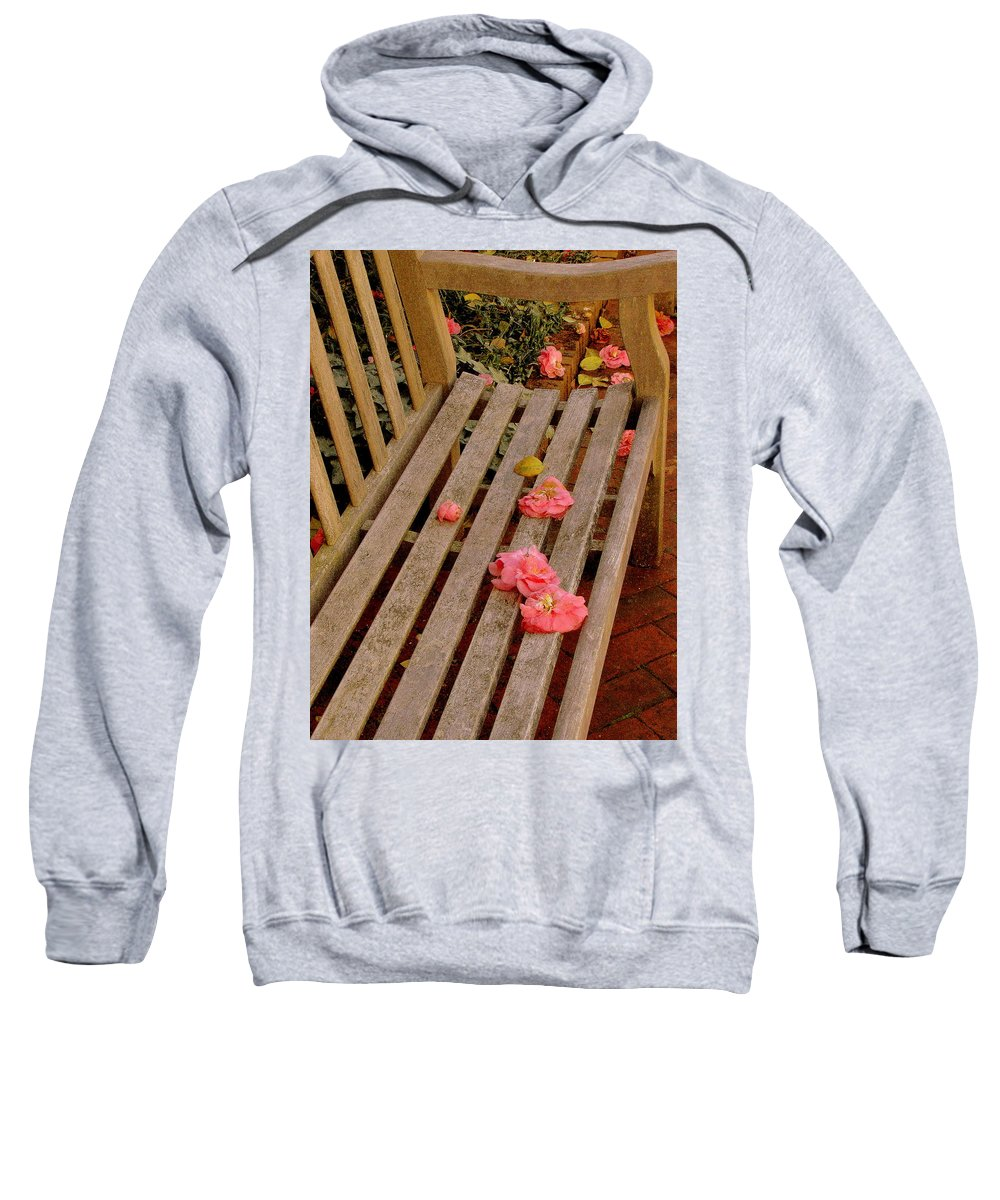 Fine Art Sweatshirt featuring the photograph Remnants by Rodney Lee Williams