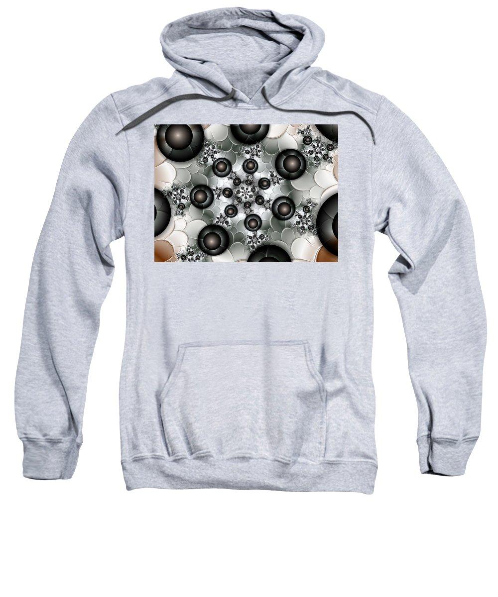 Digital Art Sweatshirt featuring the digital art Rising Up by Gabiw Art