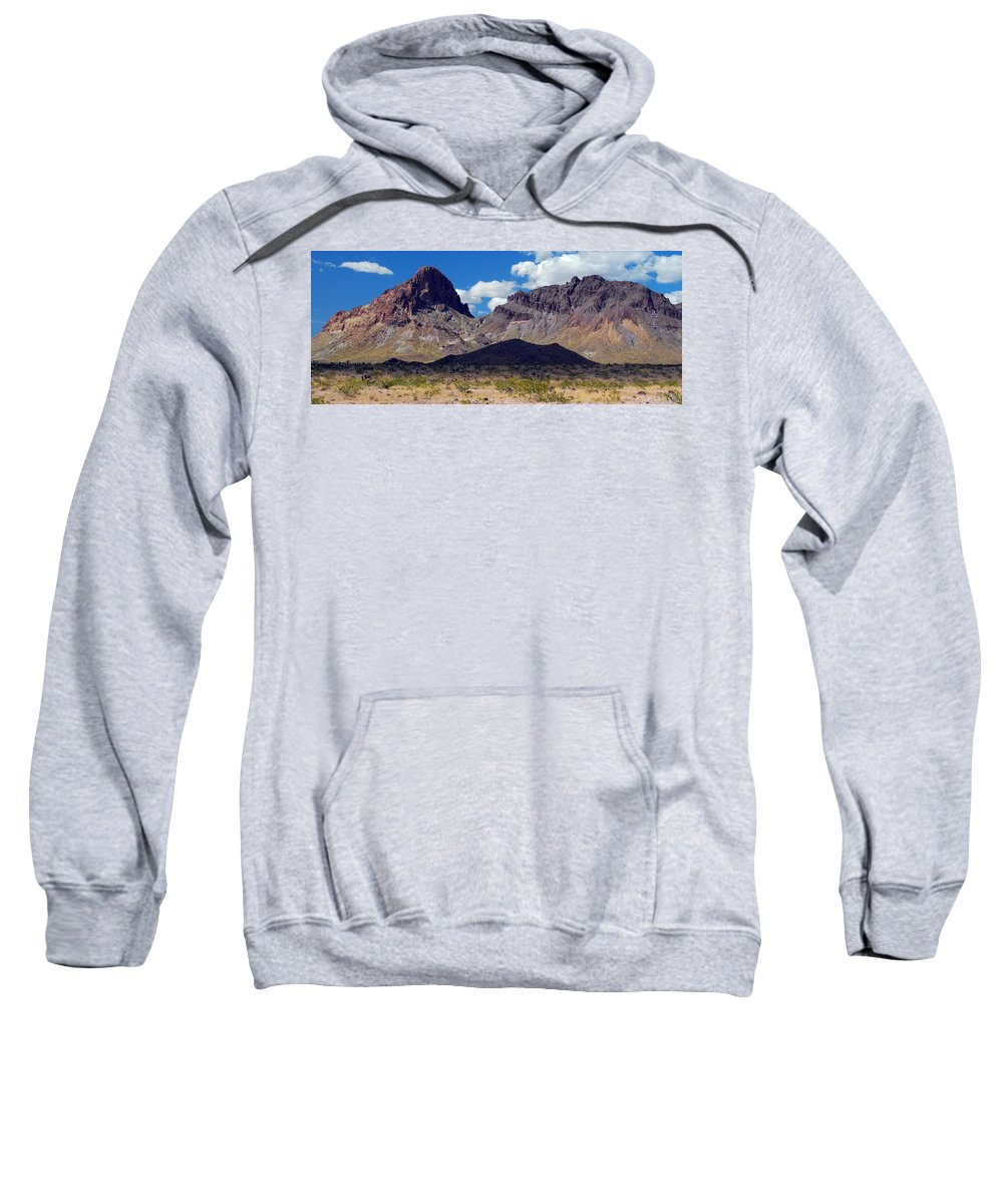 Mountains Sweatshirt featuring the photograph Route 66 Scenery by Tam Ryan