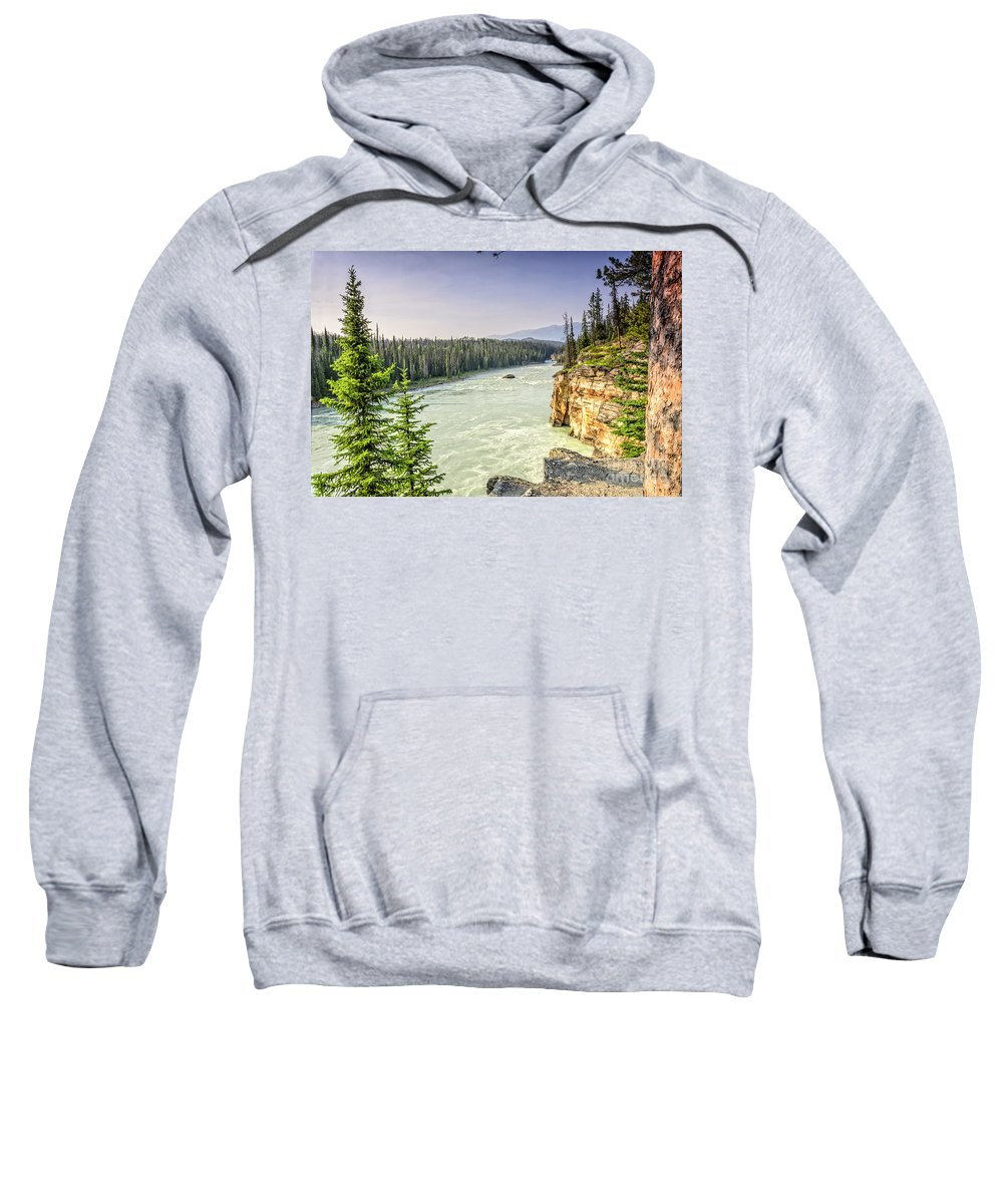 River Sweatshirt featuring the photograph River by Viktor Birkus