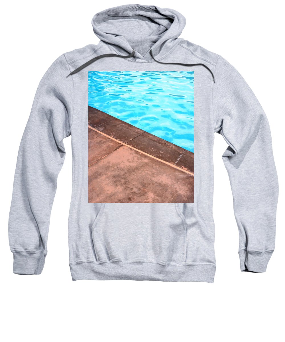 Riviera Hotel Sweatshirt featuring the photograph Riviera Pool Palm Springs by William Dey