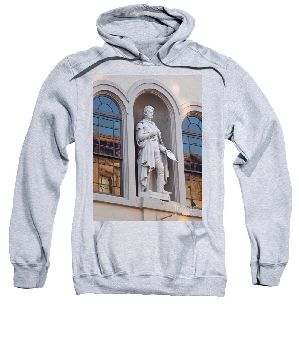 Robert Fulton Sweatshirt featuring the photograph Robert Fulton by Eric Schiabor