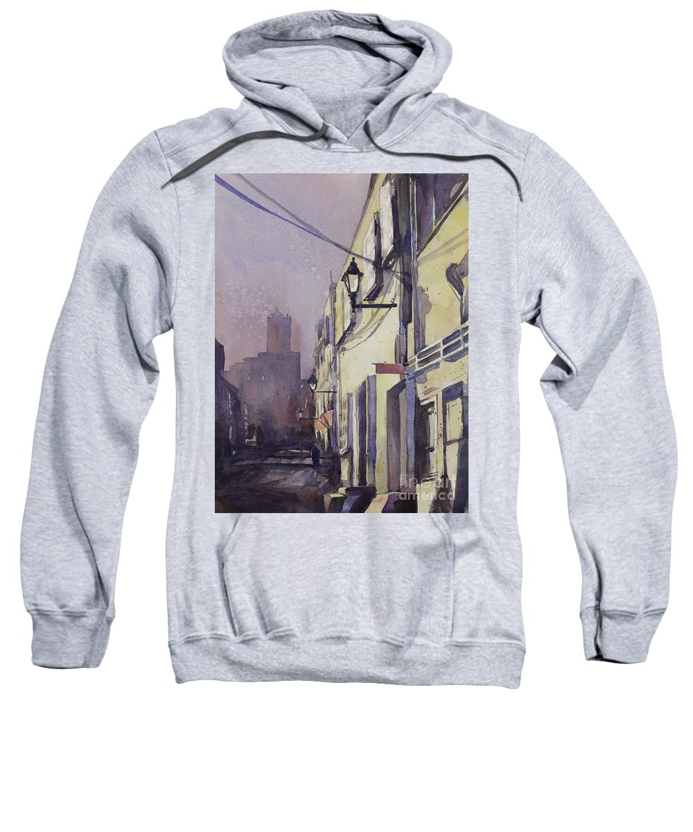 Painting Sweatshirt featuring the painting Rocking The Kasbah by Ryan Fox