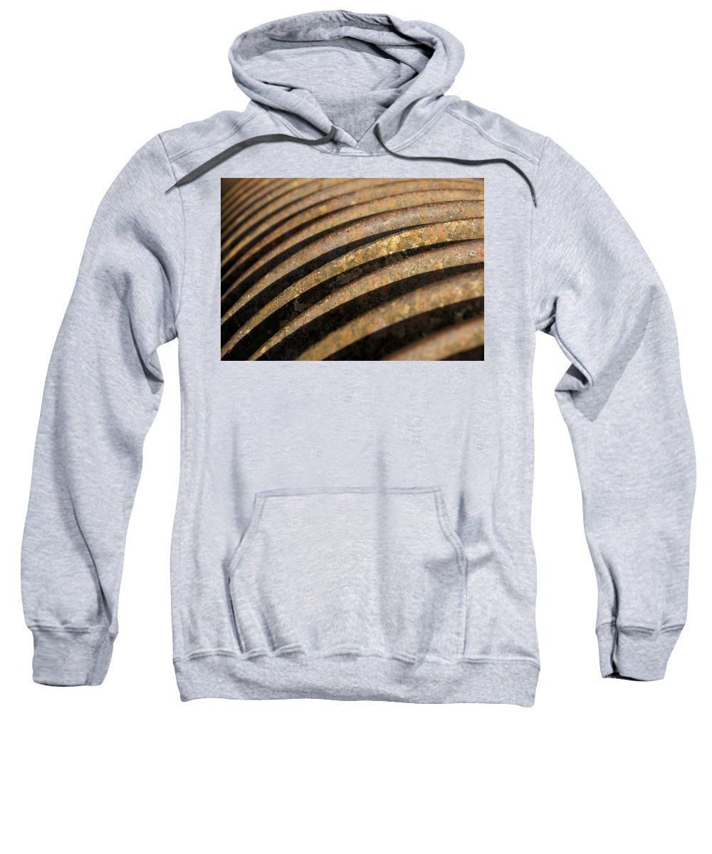 Farm Sweatshirt featuring the photograph Roller 1 by Ron Harpham