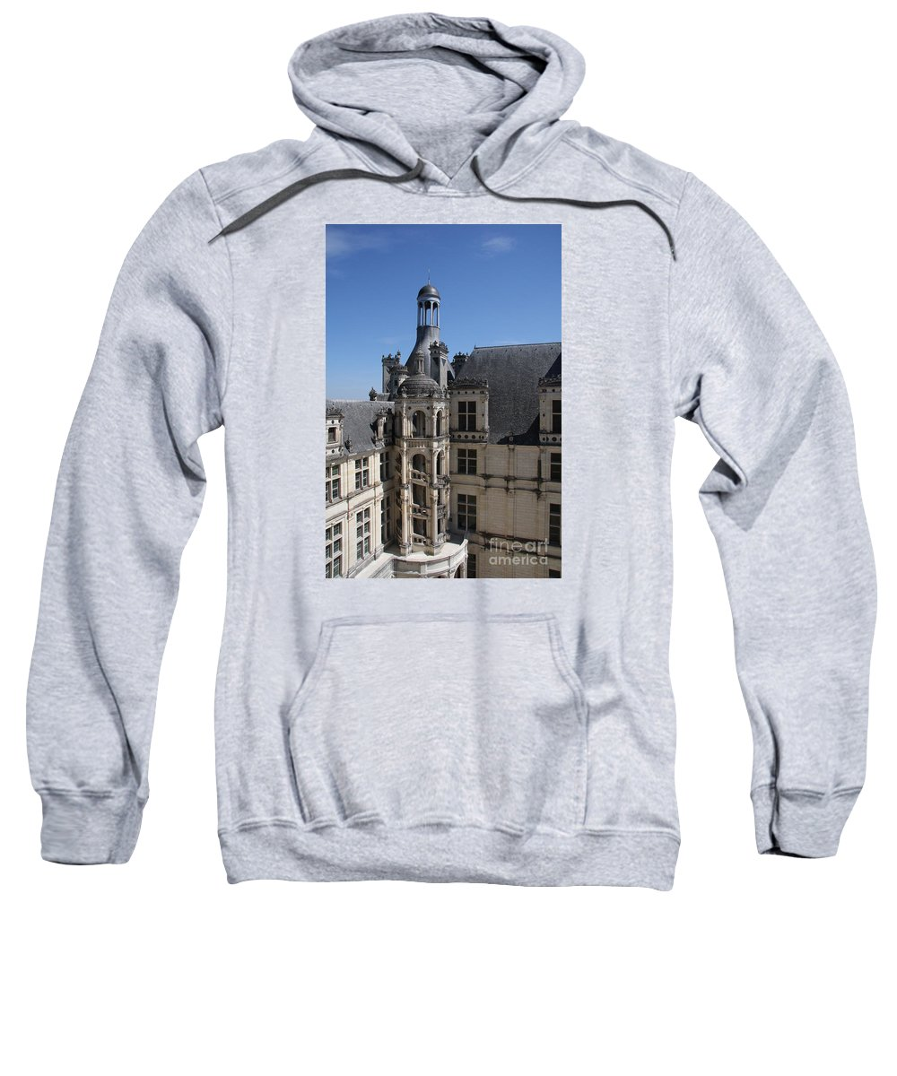 Palace Sweatshirt featuring the photograph Round Stairway by Christiane Schulze Art And Photography